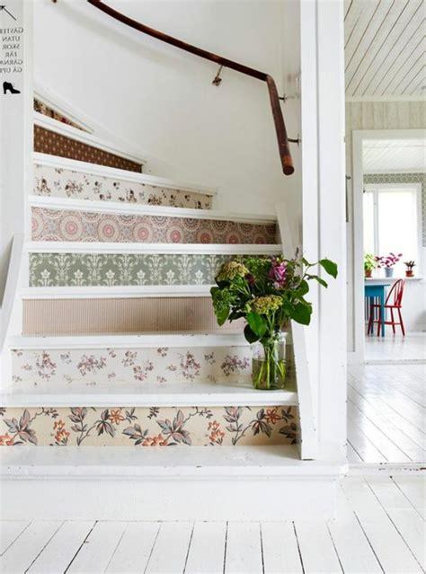 deko treppe 50 bilder und ideen f 252 r treppenaufgang gestalten