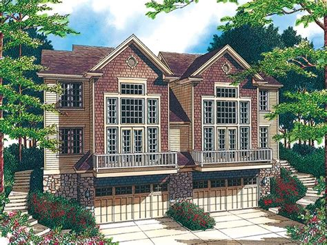 sloped lot house plans plan 034m 0010 find unique house plans home plans and