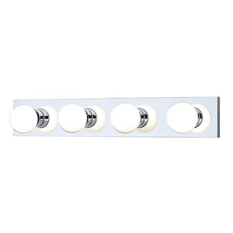 bathroom light bars chrome shop thomas lighting 4 light 4 25 in chrome vanity light