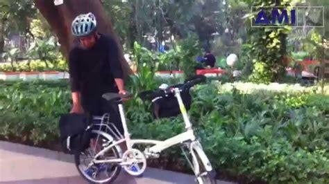 Spakbor Sepeda Depan Belakang Mtb sepedaku roda dua rak pannier depan rak pannier belakang sepeda lipat untuk touring