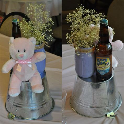 Pink Baby Shower Centerpieces by Quot A Baby Is Brewing Quot Themed Baby Shower Centerpieces Pink