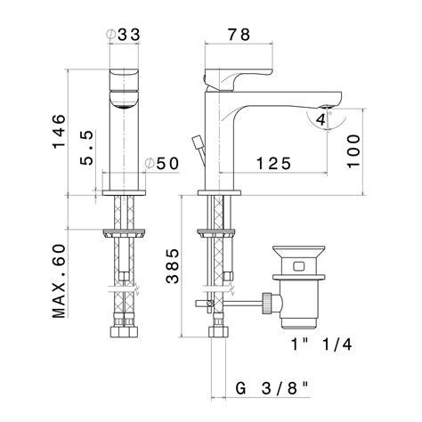 new form rubinetti miscelatore linfa by newform per lavabo o bidet con