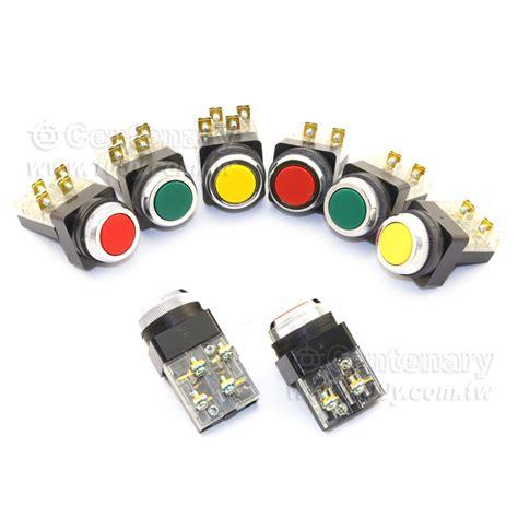 Push Button Type Tbf 251 tbf 251 r tend 25mm 1a1b no nc 復歸 rohs