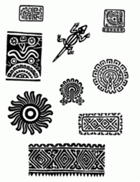 Design Motifs Of Ancient Mexico design motifs of ancient mexico