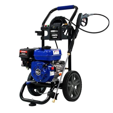 duromax 3 100 psi 2 5 gpm 7 hp gas engine pressure washer