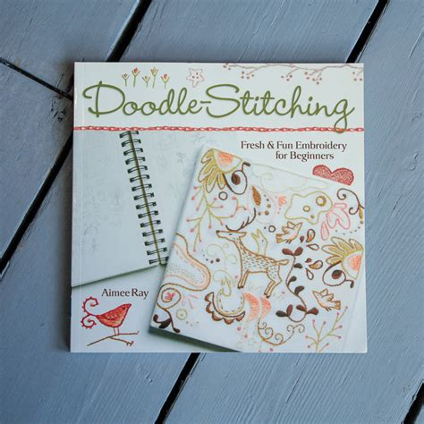 how to do doodle stitching doodle stitching embroidery book by berylune