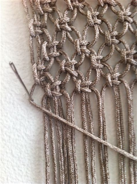 Macrame Stitches - macrame wall hanging pattern