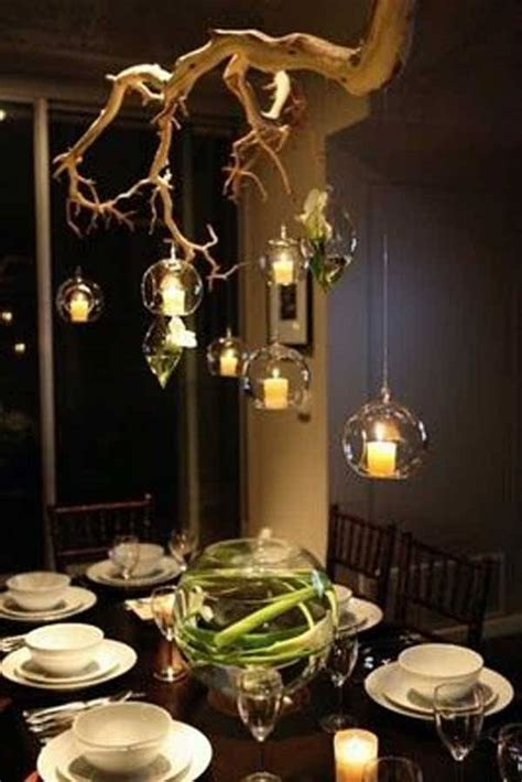 diy tree branch chandelier ideas  piece