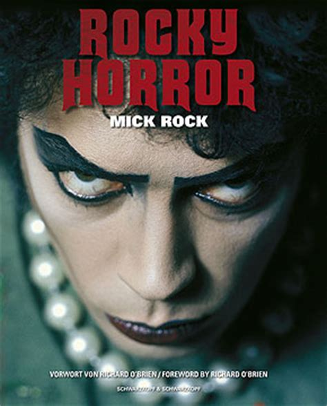 rocky horror picture show book timewarp mick rock rocky horror book 2005