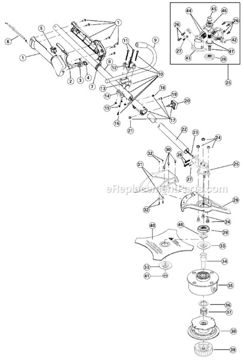 ryobi eater parts diagram weedeater small engine diagram get free image about