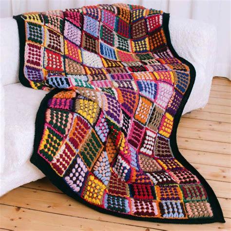 Quadrate Patchwork Decke Häkeln by Loom Maxi Quadrat Rechteck Designvielfalt Einfach