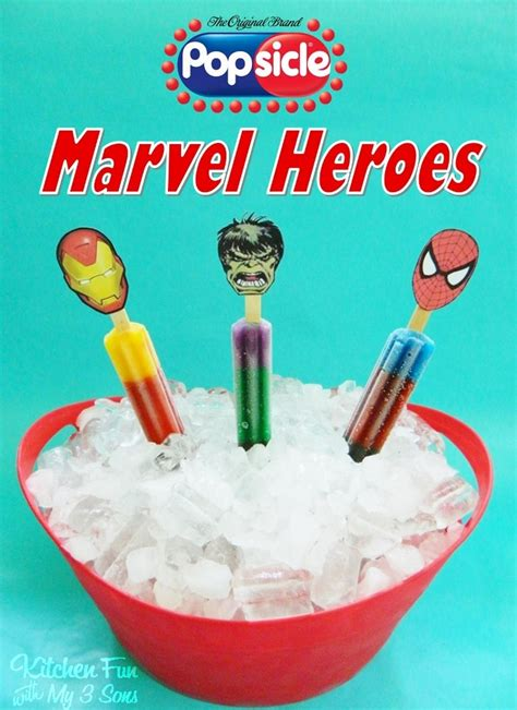 Marvel Heroes Gift Card - popsicle marvel heroes with free printable target gift card giveaway kitchen fun