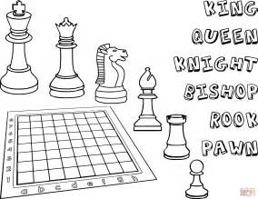chess king coloring page chess pieces coloring page free printable coloring pages