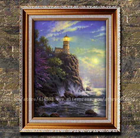 home interiors kinkade prints prints kinkade painting split rock light seascape lighthouses painting hotel home