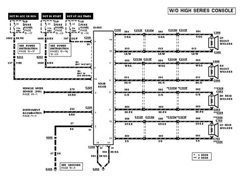 1998 ford explorer radio wiring diagram image search results