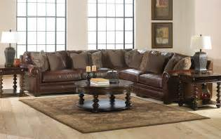 living rooms with sectional sofas living room leather furniture