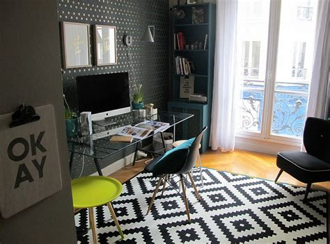Rug In Office by 50 Splendid Scandinavian Home Office And Workspace Designs
