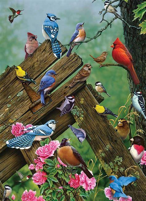 birds   forest  pieces cobble hill puzzle