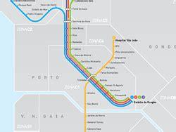 metro porto portogallo metro de oporto l 237 neas plano horario y tarifas metro