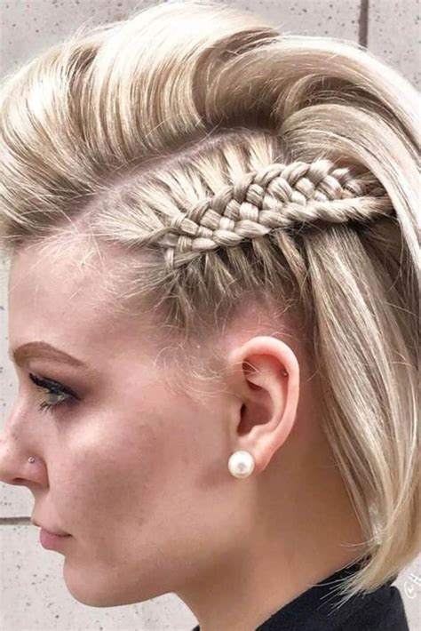 braided hairstyles in short hair 73 stunning braids for short hair that you will love
