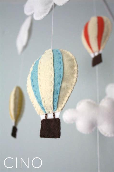 hot air balloon home decor diy hot air balloon baby mobile kids home decor