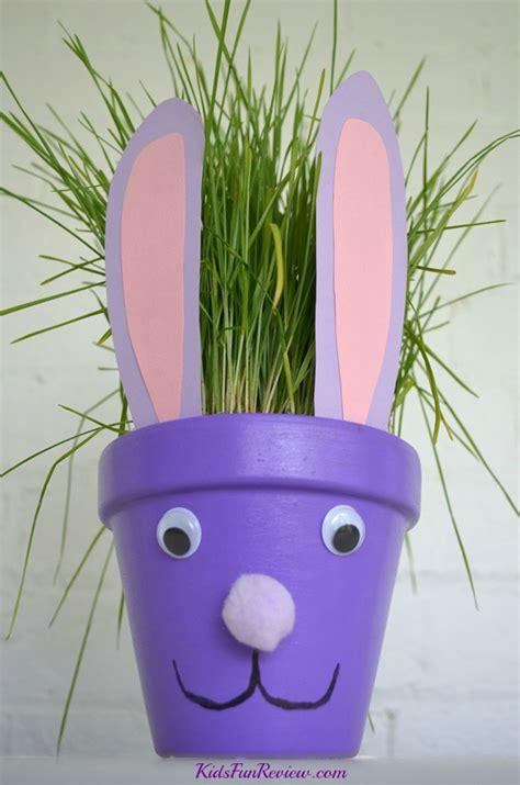 bunny flower pot fun family crafts