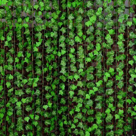 250cm plastic climbing vines simulation green leaf plant artificial plant virginia creeper home