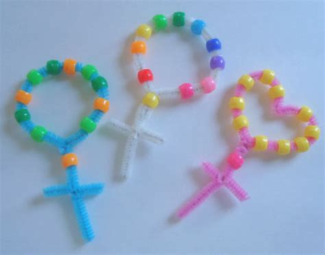 rosary craft for catholic icing easy rosary craft for