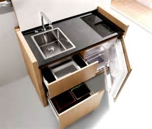 Mini Kitchen Cabinets Space Saving Ideas For A Small Kitchen Living Big In A Tiny House