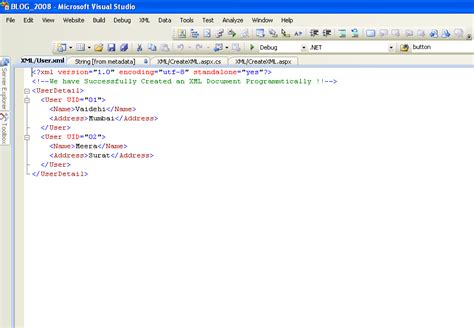 create xml how to create and save an xml file in asp net with c