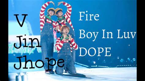 download mp3 jhope bts 1 verse bts v jin jhope fire boy in luv dope cute ver 3d