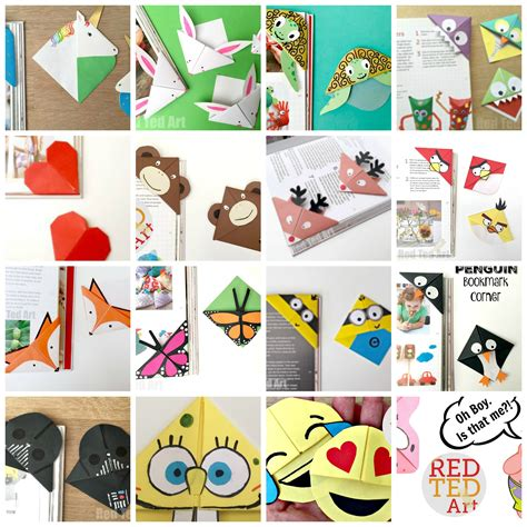 7 best images of bookmark designs free printable copies corner bookmarks how to designs red ted art s blog