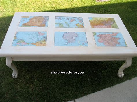Decoupage Coffee Table - shabby redo for you shabby coffee table with decoupage