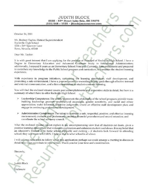 Letter Of Intent Assistant Principal Principal Cover Letter Cover Letters Cover Letters Letters And Principal