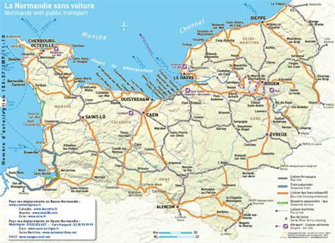 normandy map dday