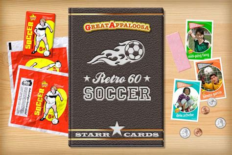 make your own soccer card custom soccer cards retro 60 series cards
