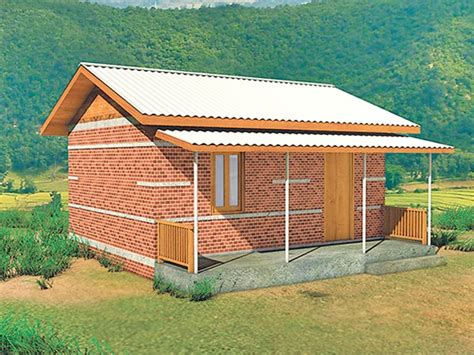 Earthquake resistant houses   The Kathmandu Post