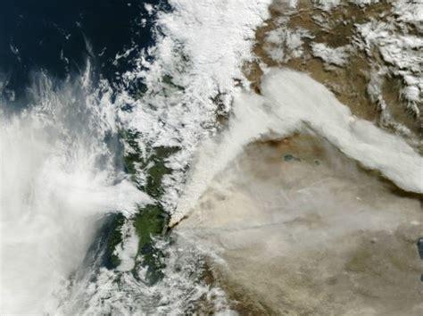 imagenes satelitales infrarrojas chile hoy im 225 genes satelitales de la nasa sobre erupci 243 n