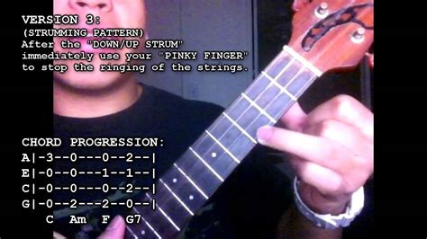 strumming pattern youtube ukulele lesson 04 reggae strumming pattern youtube