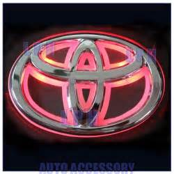Led Toyota Emblem Pink Led Toyota Emblem Search My Ride