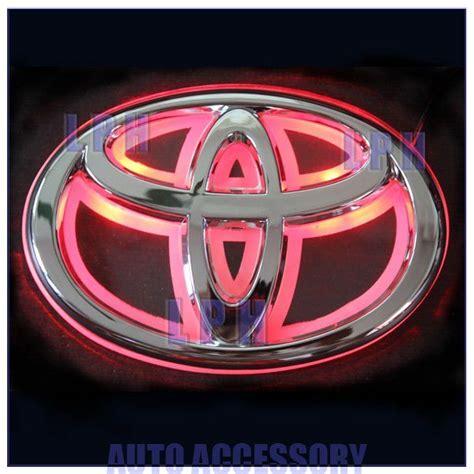 Led Toyota Emblem Pink Led Toyota Emblem Search My Ride