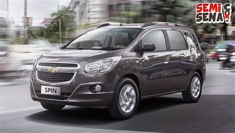 specifications and price chevrolet spin 2015