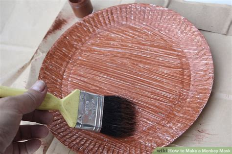 How To Make Paper Mask Step By Step - how to make a monkey mask with pictures wikihow