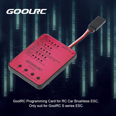 Rc Car Flycolor Lighting Series 45a 2 4s Rc Car Brushless Esc With 6v goolrc s series s 45a s 120a rc car esc programming card rcmoment