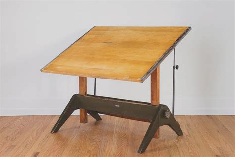 Vintage Mayline Drafting Table Homestead Seattle Mayline Oak Drafting Table