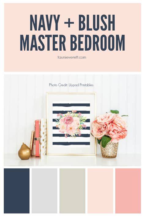 Gray Bathroom Ideas by Navy And Blush Master Bedroom Tauni Co
