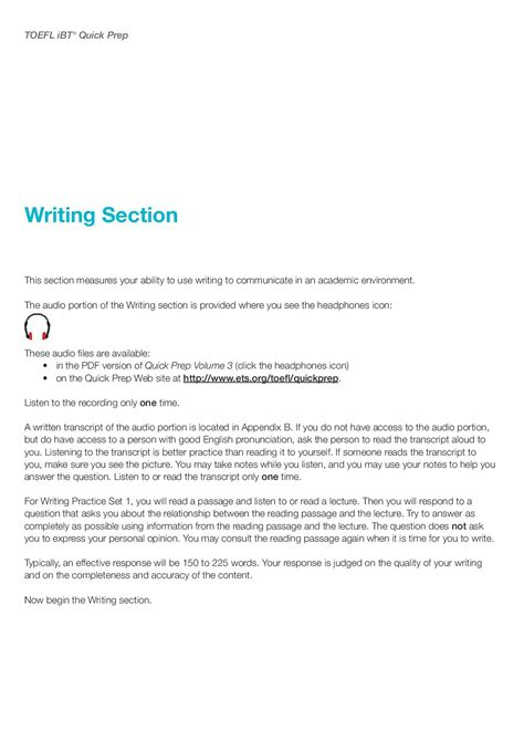 toefl writing section writing section in toefl 28 images toefl ibt writing