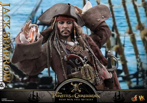 barco pirata jack sparrow hot toys captain jack sparrow potc5
