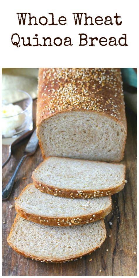 whole grain quinoa bread recipe whole wheat quinoa bread s kitchen stories