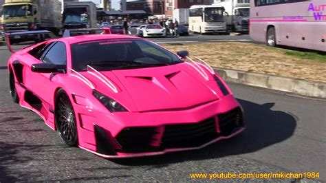 Pink Car Kit by This Pink Lamborghini Veneno Wannabe Was A Real Murcielago